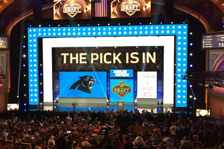The pick is in NFL draft